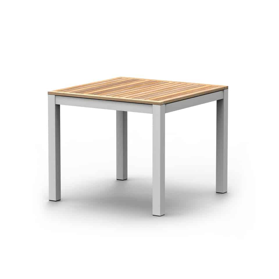 WA4044P AMBER DINING TABLE [ WHITE]