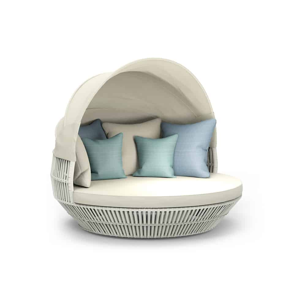 WA1038 APRICOT ROUND BED WITH COVER (2)